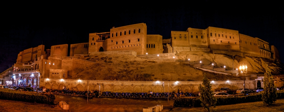 The citadel of Erbil by Rawen Pasha