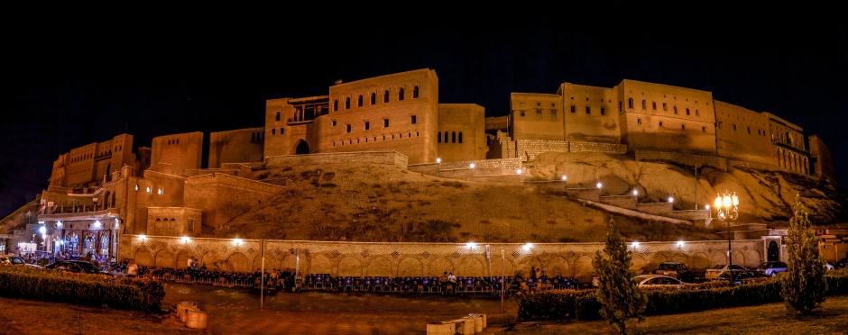 The citadel of Erbil by Rawen Pasha