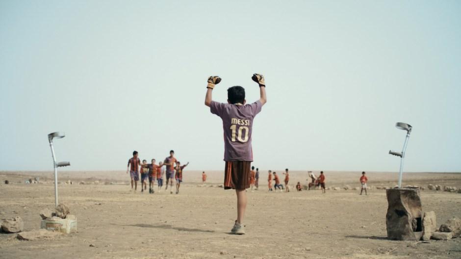 A scene of Baghdad Messi film by Sahim Omar Kalifa