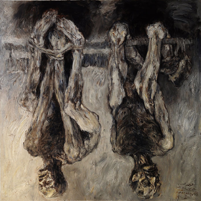 Apocalypse-140x140cm-oil-on-canvas