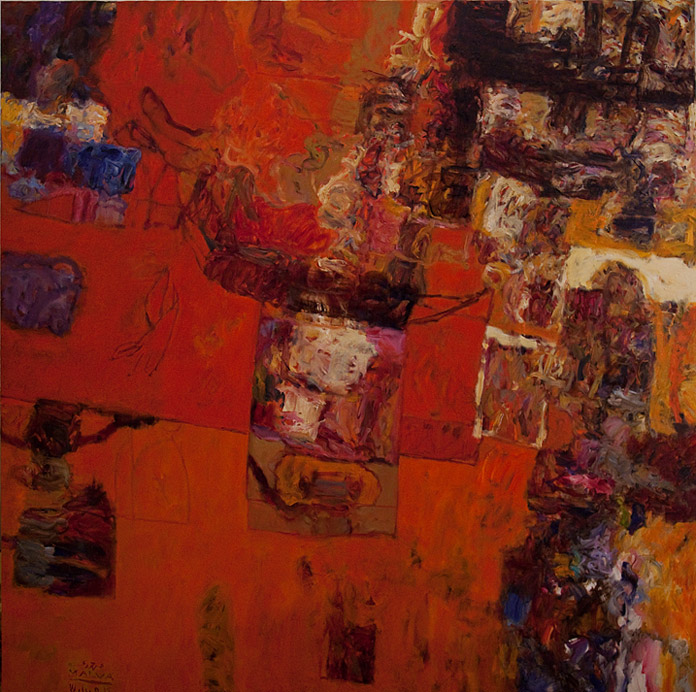 Red-River-200x200cm-oil-on-canvas